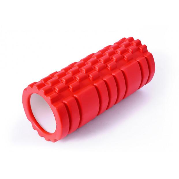 Masážny valec SMK Sport Roller Red 33 x 13 cm