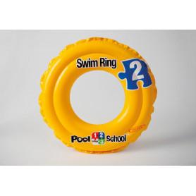 Kruh plavací DELUXE - dvoukomorový