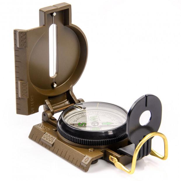Vojenský kompas (buzola) Meteor Metal Linin 42 mm