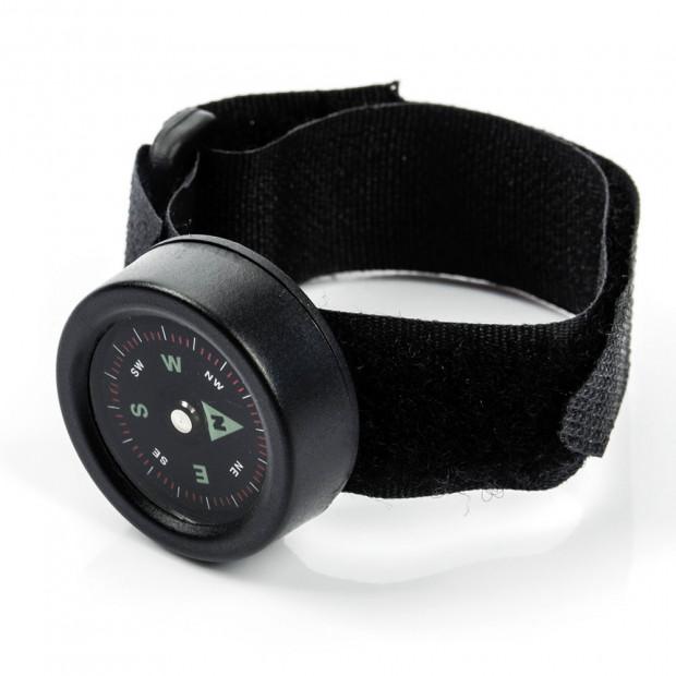 Hodinkový kompas (buzola) Meteor Watch Black