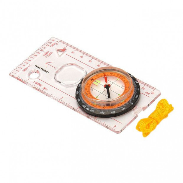 Kompas (buzola) Meteor Compact 43 mm se šňůrkou na krk