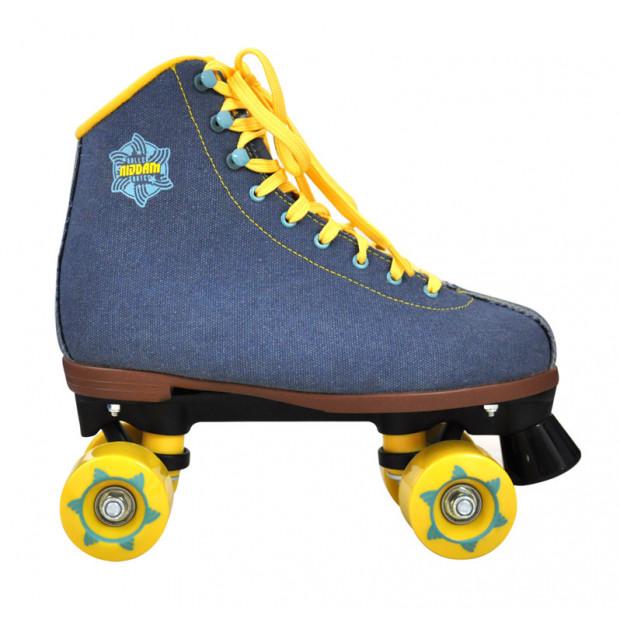 Quad kolieskové korčule Nijdam Denim Jeans