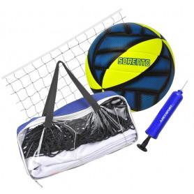 Volejbalový set Axer Sport - míč, pumpička a síť