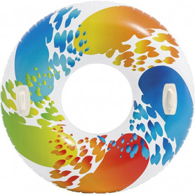Velký kruh Intex Color s držadly