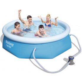 Nafukovací bazén Bestway Fast Set 244 x 66 cm s filtrací