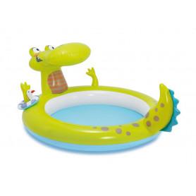 Dětský bazén Intex Gator se sprchou 198 x 160 x 91 cm