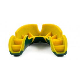 Chránič zubů a čelisti Opro Shield Self-Fit Silver Green/Yellow