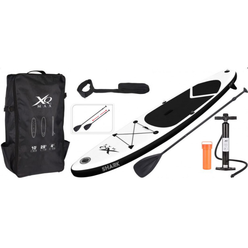 Paddleboard XQ Max Red Vulcano Set 305 cm