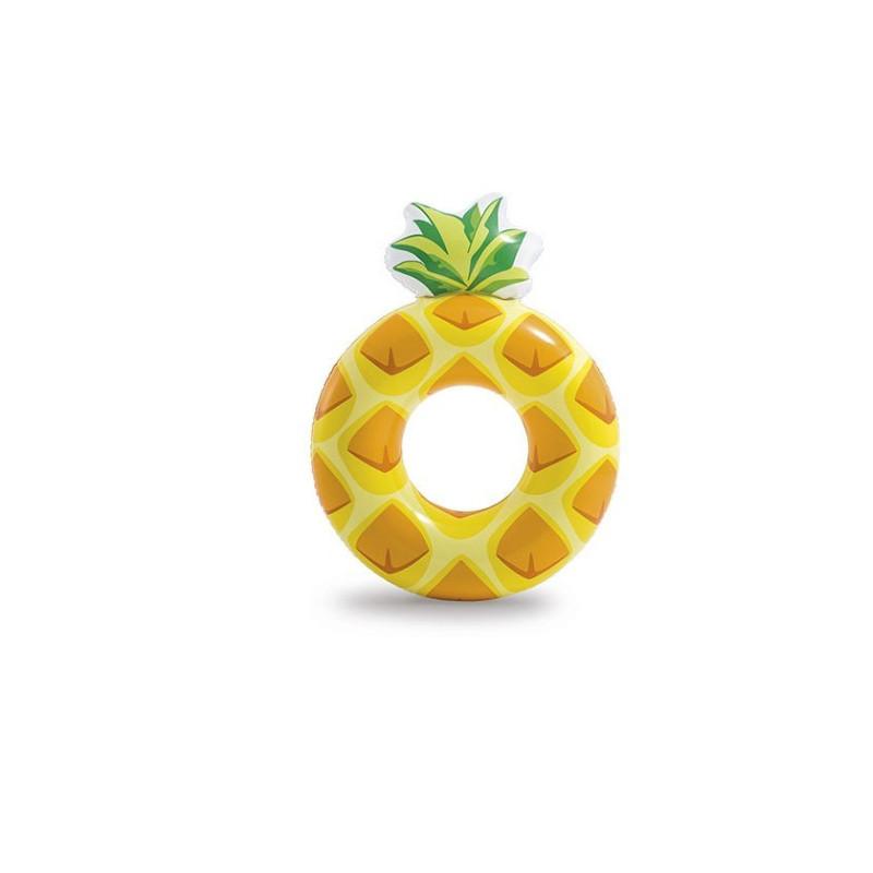 Nafukovací kruh ananas Intex Donut 114 cm