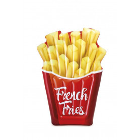Nafukovací lehátko Intex French Fries 142 x 135 cm