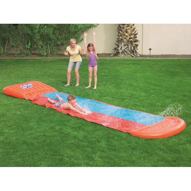 Vodní zahradní skluzavka Bestway Double H2O GO 549 cm