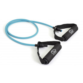 Fitness guma s úchyty SMJ Sport EX008 Green 2,5 kg