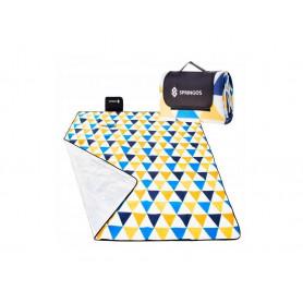 Velká pikniková deka SPRINGOS XL Mead 200 x 200 cm