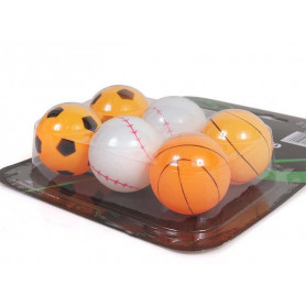 Míčky pro stolní tenis SMJ Sport BM620 6 ks