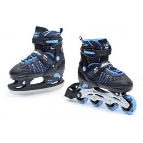 Dětské nastavitelné zimní a kolečkové brusle SMJ Sport 2v1 Jack