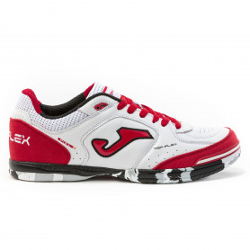 Sálovky Joma Top Flex 2022 White/Red Indoor