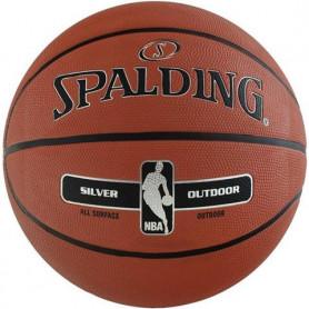 Basketbalový míč Spalding NBA Silver Outdoor 2017 83569Z, velikost 6