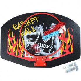 Basketbalová deska Little Kimet Flame 60 x 40 cm včetně obruče a síťky