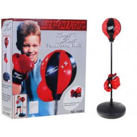 Boxovací hruška s podstavou Ramiz 90 - 115 cm Junior