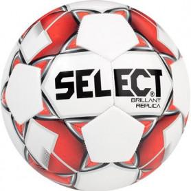 Fotbalový míč Select Brillant Replica 2019 bílá-červená-černá