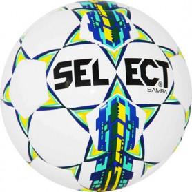 Fotbalový míč Select Samba 4 14827 bílo-modrá-žlutá-zelená