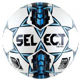 Fotbalový míč Select Team Fifa 5 2015 bílý a modrý