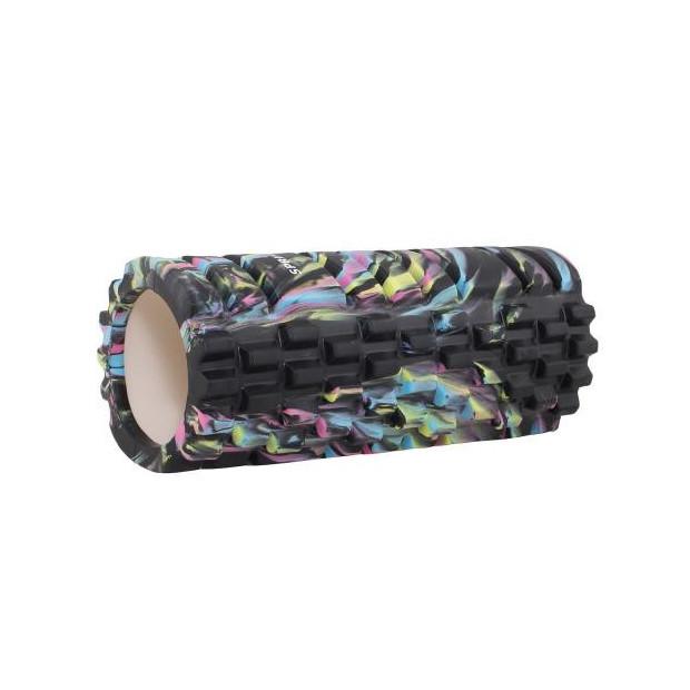Masážny valec Springos EVA Black 33 x 14 cm