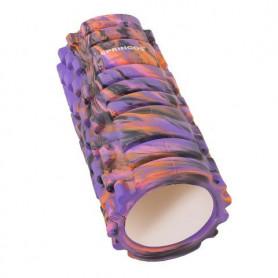 Masážní válec Springos EVA Violet 33 x 14 cm
