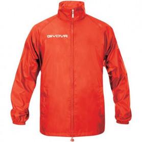 Nepromokavá bunda Givova Rain Basico červená RJ001 0012