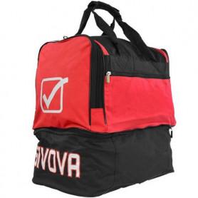 Fotbalová taška Givova Medium Bag red-black 67 litrů
