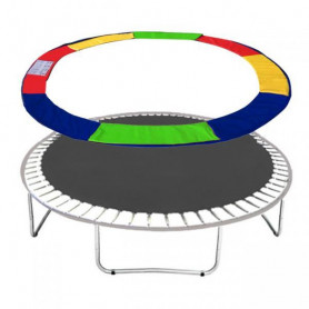 Molitanový kryt pružin Springos na trampolíny 305 cm / 10 ft barevný