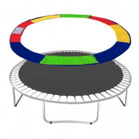 Molitanový kryt pružin Springos na trampolíny 396 cm / 13 ft barevný