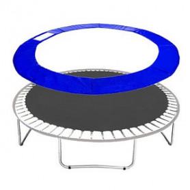 Molitanový kryt pružin Springos na trampolíny 460 cm / 15 ft modrý