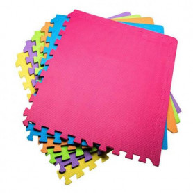 Puzzle podložky Springos 60 x 60 x 1 cm / 6 kusy MultiColor