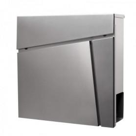 Poštovní schránka Springos MB0024 37 x 37 x 10,5 cm nerezová ocelnerezová ocel