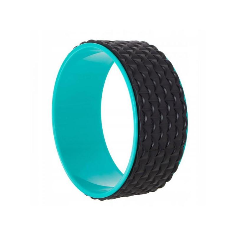 Jóga válec Springos YG0020 modro/černý