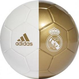 Fotbalový míč Adidas Real Madrid Mini bílé zlato DY2529 velikost 1