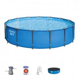 Nadzemní bazén Bestway 56946 Power Steel 488 x 305 x 107 cm s konstrukcí
