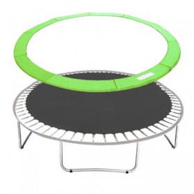Molitanový kryt pružin Springos na trampolíny 366 cm / 12 ft zelený