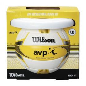 Plážová sada Wilson WTX0523 KIT volejbalová lopta + frisbee