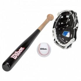 Baseballový set Wilson Kit WTA0001A pálka, rukavice a míček