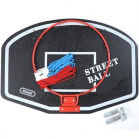 Basketbalová deska Little Kimet Street Ball 60 x 40 cm včetně obruče a síťky
