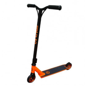 Freestylová koloběžka SPARTAN Stunt - oranžová