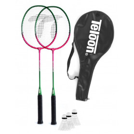 Badmintonová sada TELOON TL020 2 rakety + 3 míčky