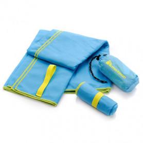 Rychleschnoucí plážový ručník Meteor Towel 80 x 130 cm světle-modrý