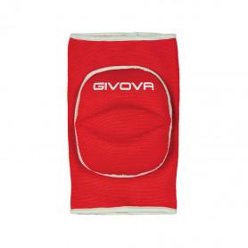 Volejbalové chrániče kolen Givova GIN01 1203 Red/White