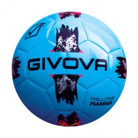 Fotbalový míč Givova Pallone Fiamma Academy Azzuro/Viola velikost 3