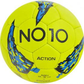 Míč na házenou NO10 Action velikost 2 žluto-modro-černý