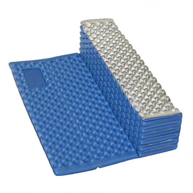 Karimatka skládací YATE WAVE ALU 2,0 modrá 185x56x1,8 cm