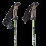 Trekové palice YATE Trekker Antishock 65 - 140 cm zelené